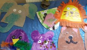 Art and crafts animals