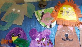 Art and crafts animals