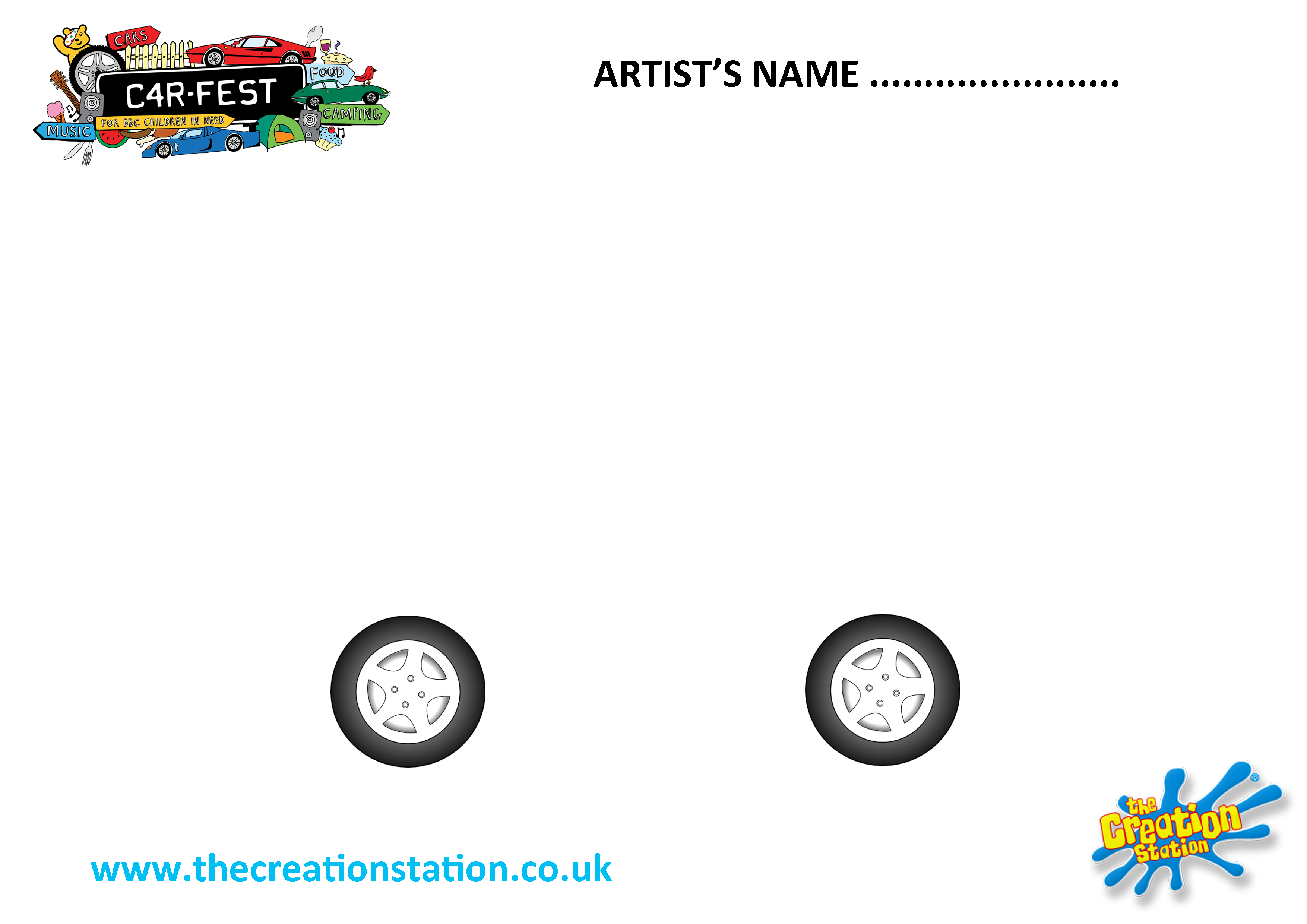Design your own creative car in celebration of Creation