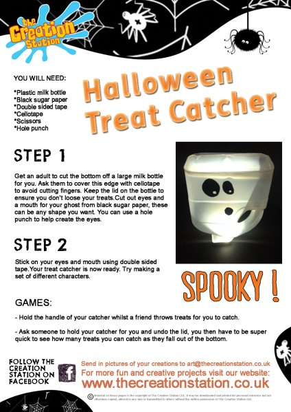 Halloween Treat Catcher