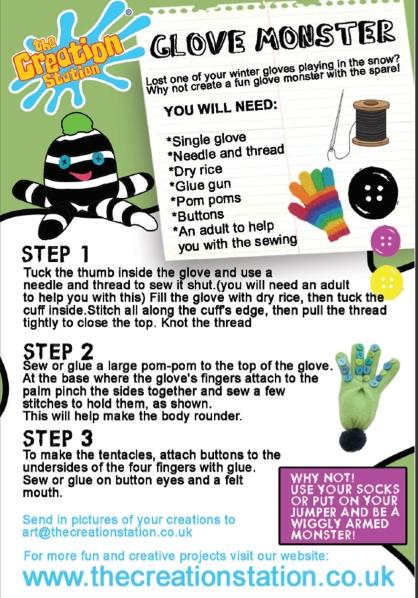 craft corner glove puppet
