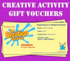 Children Creative Activity Vouchers