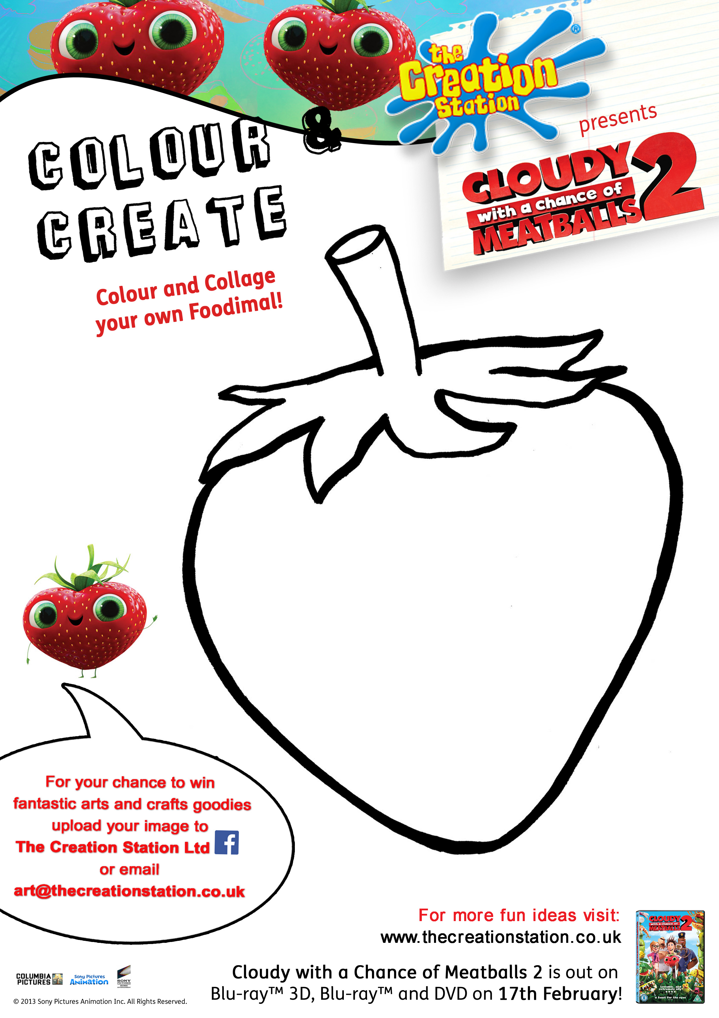Fantastic Foodimals - The Creation Station Cloudy With A Chance Of Meatballs 2 Characters Names