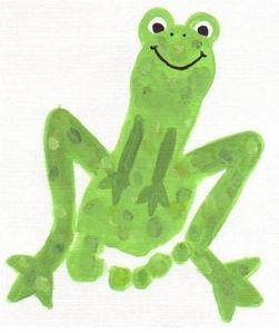 footprint frog