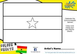 Ghana Commonwealth sheet