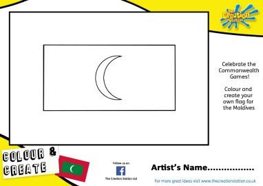 Maldives Commonwealth sheet