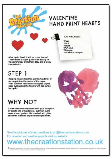 handprint worksheet