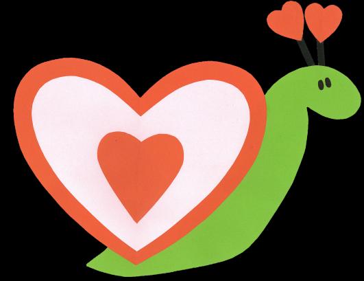 snail heart