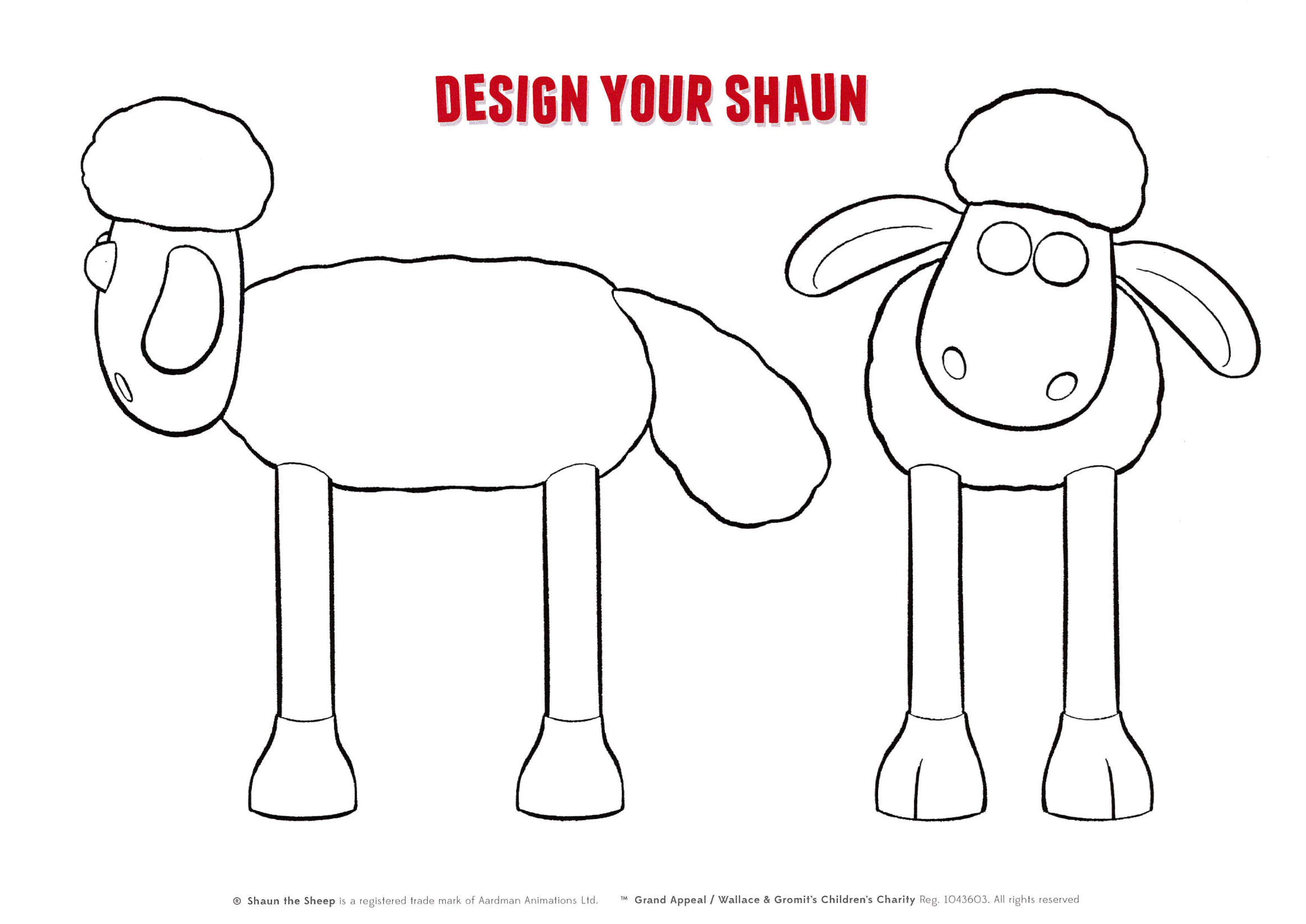 Old Fashioned Shaun The Sheep Template Adornment - Resume Ideas ...