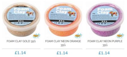 foam clay with price
