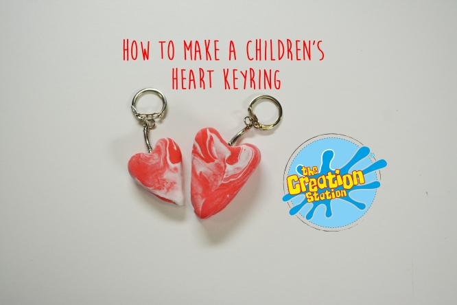 how-to-make-a-childrens-heart-keyring